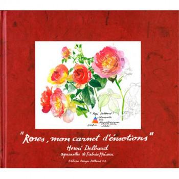 Livre Roses, mon carnet d'émotions, de Henri Delbard.
