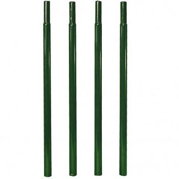 Fixation pour arche - Pack 4 tubes à enfoncer Vert sapin