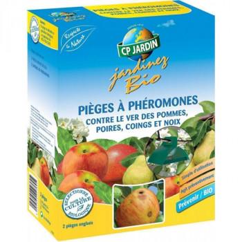 Pièges à phéromone contre le ver des pommes, poires, coings et noix