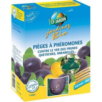 Pièges à phéromone contre le ver des prunes